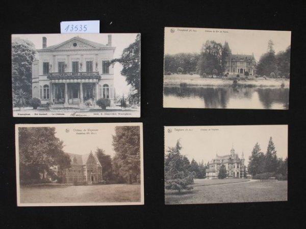 1006: Flandre occidentale . cartes postale châteaux kas