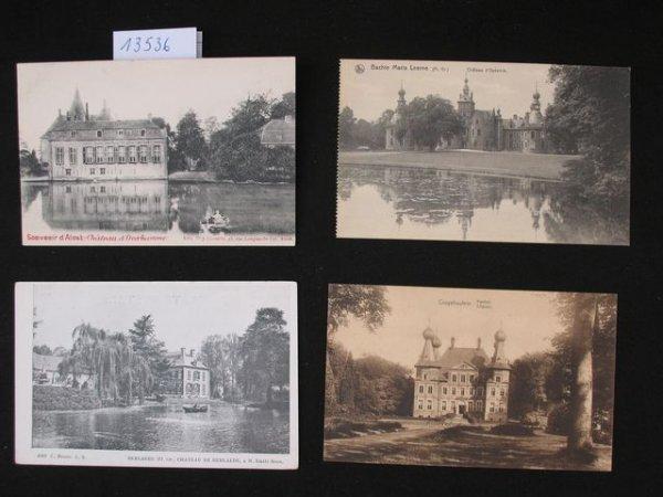1007: Flandre orientale carte postale châteaux kastelen
