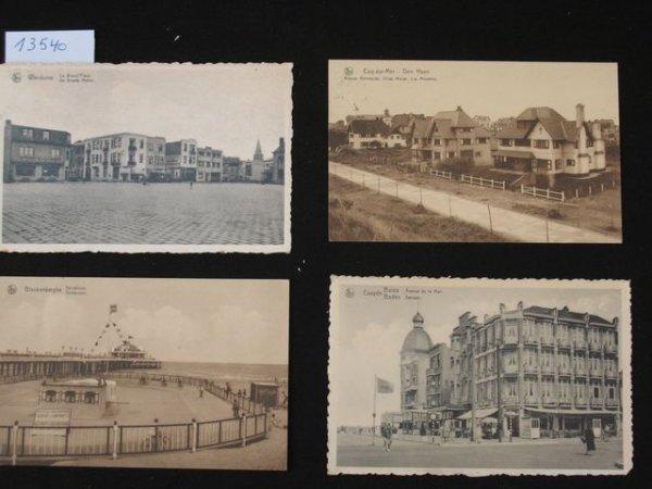 1008: Gand La Côte Flandre +/- 200 cartes postales