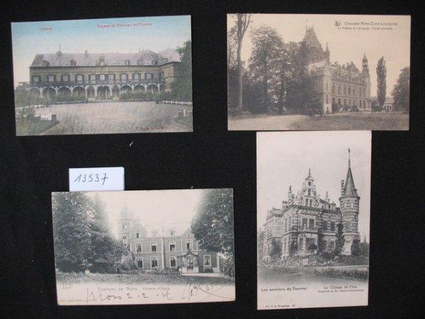 1009: Hainaut cartes postales châteaux kastelen