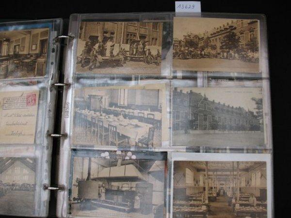 1010: Laeken cartes postales Drève Sainte-Anne Casernes