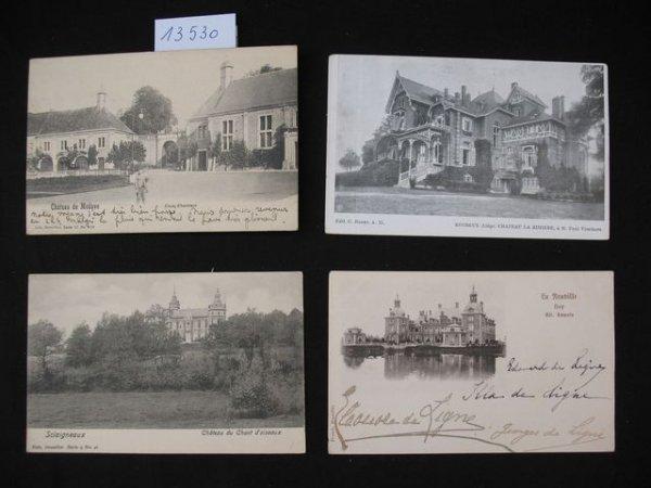 1011: Liège cartes postales châteaux kastelen