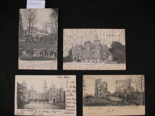 1012: Limbourg cartes postales châteaux kastelen