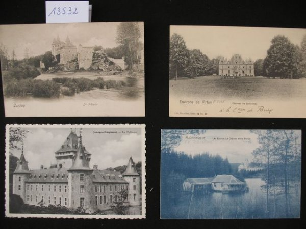 1013: Luxembourg cartes postales châteaux
