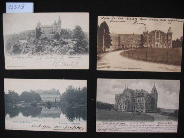 1014: Namur cartes postales châteaux
