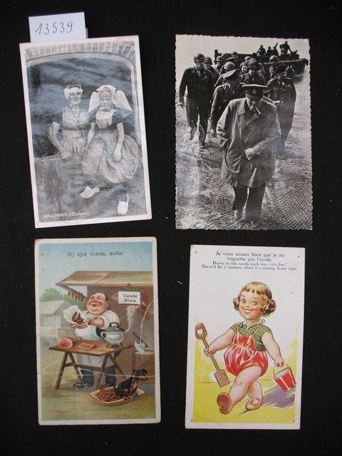 1016: Folklore costumes divers +/- 200 cartes postales