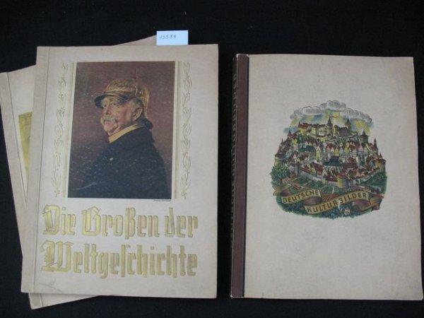 1017: [Chromos] Ruhmesblatter Deutscher Geschichter.