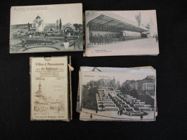 1: Carte postale Exposition universelle Bruxelles 1910
