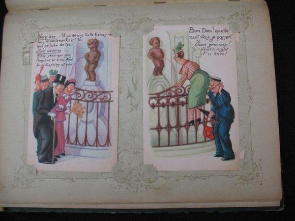 4: Bruxelles Manneken-Pis Cartes postales postkaarten