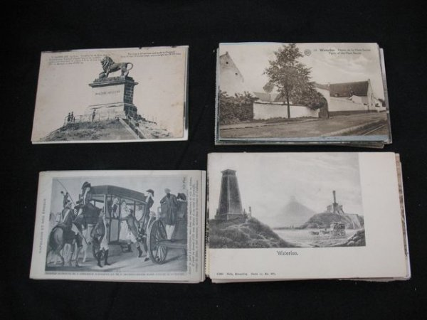5: Waterloo. Environ 130 cartes postales.