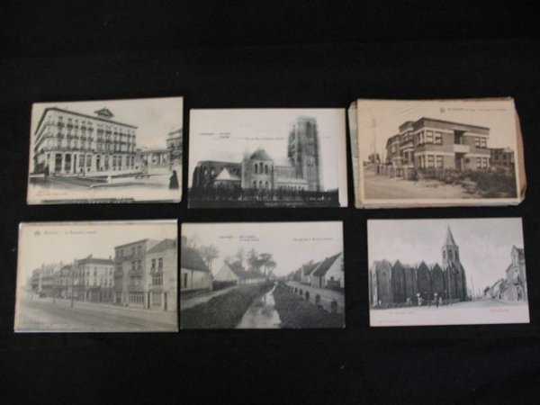 6: Westende Wenduyne Heyst La Côte Cartes postales