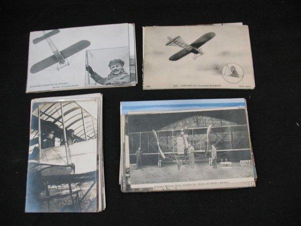 16: Aviation dirigeables cartes postales postcards