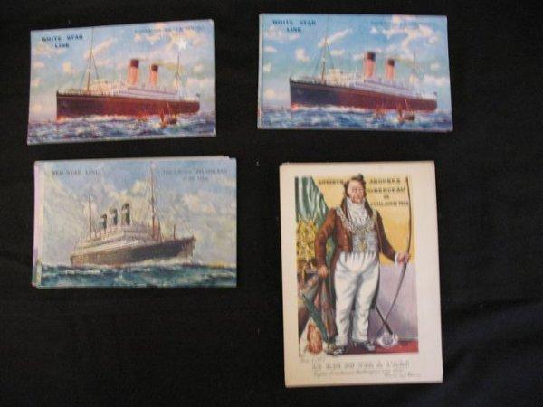 18: White Red Star Line  cartes postales postcards