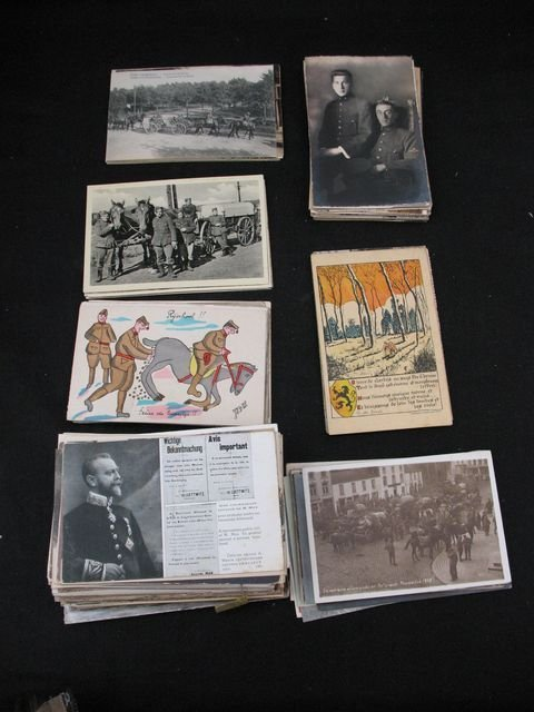 19: 1914-1918 Militaria cartes postales postcards