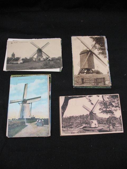 24: Moulins molen cartes postales postcards