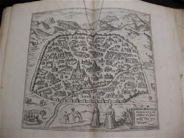 51: BRAUN HOGENBERG Civitates Orbis atlas map cartes