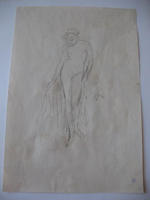196: WHISTLER James Abbott McNeil Nude Model