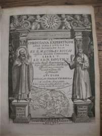 755: TRIGAULT, Nicolas  - De christiana expeditione apu