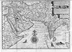 756: VAN LINSCHOTEN, Jan Huygen  - Itinerario, Voyage o