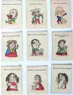 Jeu des Famille 20 cartes illustrées en couleur