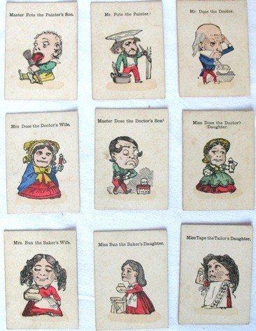 4: Jeu des Famille 20 cartes illustrées en couleur