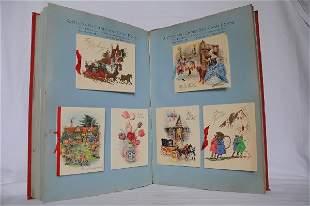 Autograph Christmas Card Boxes.