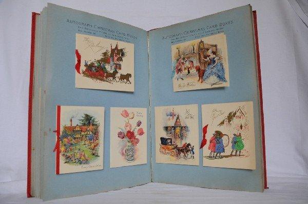 7: Autograph Christmas Card Boxes.