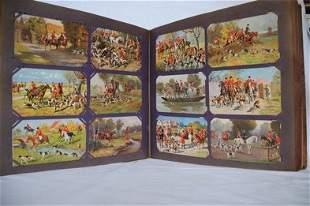 Chasse. Environ 250 cartes postales, époques diverse