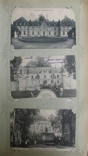 Châteaux. France, Italie, etc. Environs 110 cartes
