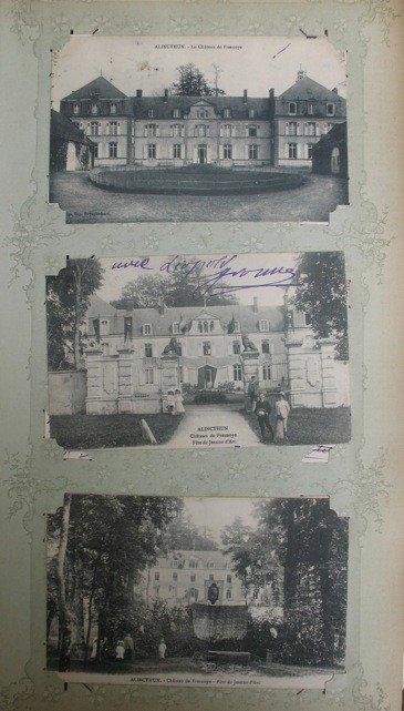 10: Châteaux. France, Italie, etc. Environs 110 cartes