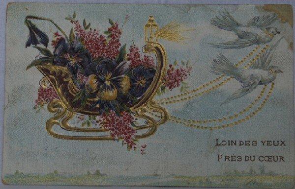 16: Fantaisie & Étranger. Environ 140 cartes postales,