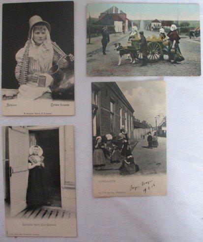 21: Folklore, Costumes & Petits Métiers. Environ 480 ca