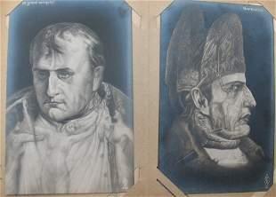 Napoléon. 102 cartes postales, certaines en couleur