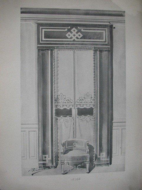 218: BÉRAUD  - Tentures artistiques.