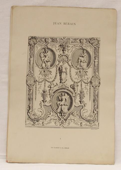228: BÉRAIN, Jean  - Decorations-Motive im Style Ludwig