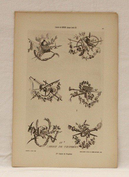 236: Matériaux et documents d'art décoratif. Réunion de