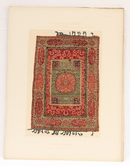239: [Tapis] Vieux tapis d'Orient. Publié par le Musée