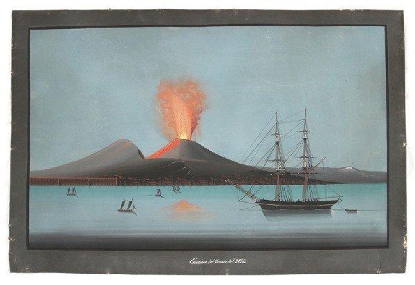 288: [Italie] Eruzione del Vesuvio del 1856.
