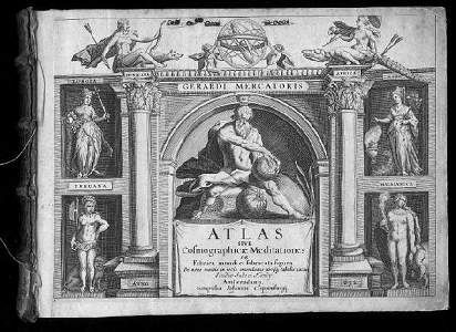 294: MERCATOR Atlas sive cosmographicae meditationes