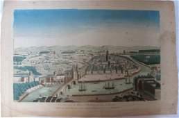 306: [Vue d'optique] Vüe Perspective de Bilbao, Ville d