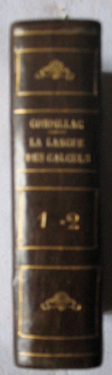 10: CONDILLAC  - La langue des calculs. Ouvrage posthum