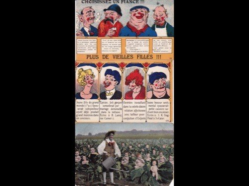 6: Fantaisie. Environ 250 cartes postales anciennes.