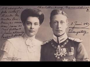 Familles royales européennes. Environ 210 cartes po