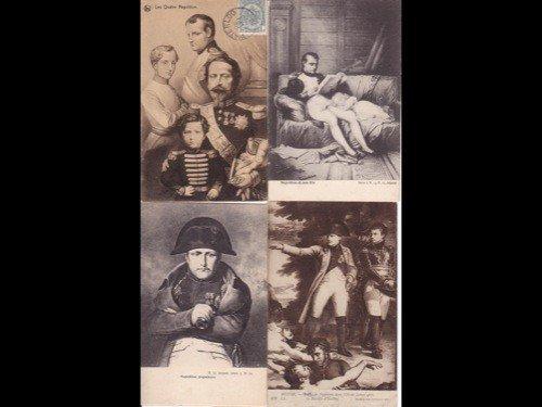 19: [Ier Empire] Napoléon. Environ 280 cartes postales.