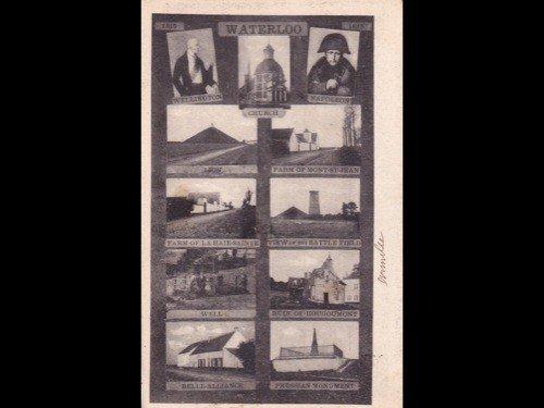 23: [Ier Empire] Waterloo & Ier Empire. 58 cartes posta