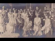 35: Famille royale belge. Environ 140 cartes postales a