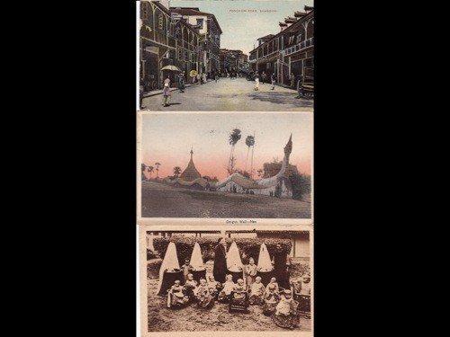 180: Chine. Environ 65 cartes postales.
