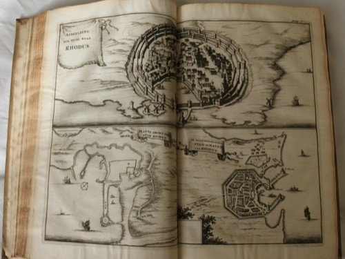 571: DAPPER, Olfert - Naukeurige beschryving der eiland