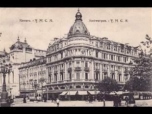 Anvers-ville. Environ 250 cartes postales.