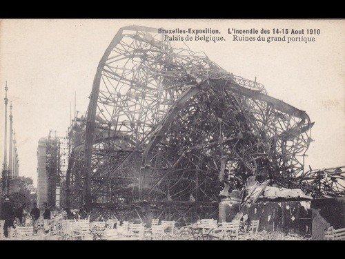 13: Bruxelles. Exposition universelle de 1910. Environ